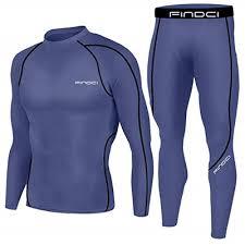 Qoo10 - <b>Findci Men Compression</b> Tops Tight Trousers <b>Long</b> Sleeve ...