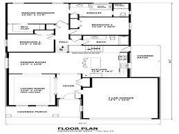 Split Level Home Back Split House Plans  canadian house plan