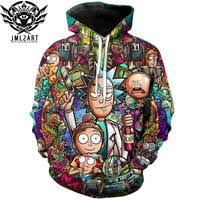 <b>Rick and</b> Morty 3D <b>Hoodie</b>