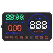 <b>Geyiren</b> M9 5.5 Inch Car <b>OBD</b>-II EUOBD <b>HUD Head</b> Up Display - Black