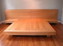 custom made king size platform bed building bedroom furniture