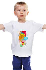 """<b>Детская футболка классическая</b> унисекс """"Сова в колпаке"""" от ..."""