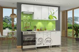 <b>Кухонный гарнитур Бланка</b> СТЛ.348.00 Белый (ст. Лукка ...