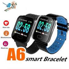 <b>A6</b> Fitness <b>Watch IP67</b> Waterproof 1.3inch Touch Screen Square ...