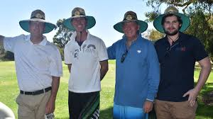 camp quality golf day bunbury mail matt powell james golding kim taylor and nathan hanley