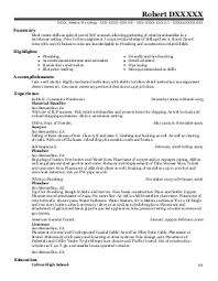 home inspector resume example  kelleher home inspections     robert d