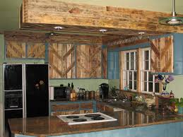 pallet kitchen cabinets budget renovation reclaimed kitchen cabinets pallets used to reface the cabinet doors wi