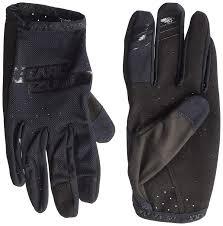 Pearl <b>iZUMi Mens</b> Divide Gloves Black/Black Large