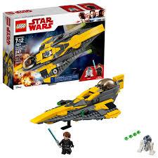 <b>LEGO Star Wars</b> Anakin's Jedi Starfighter <b>75214</b> - Walmart.com