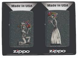 "<b>Набор зажигалок Zippo</b> ""Day of Dead Skulls"", 2 шт — купить в ..."