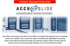 Accu-Slide Expandable Room System