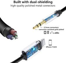 <b>Stereo Jack Cables</b> Electronics & Photo <b>Aux Cable</b> for Phone ...