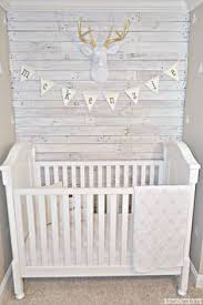 diy white washed pallet wallfawn over baby basics whitewash