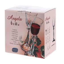 <b>Набор рюмок</b> для водки <b>Crystal</b> Bohemia Angela 60 мл 6 шт ...