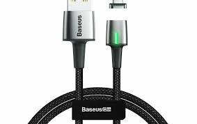 Кабель <b>Baseus Zinc Magnetic</b> USB для устройств с разъемом ...