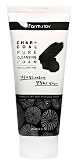 <b>Пенка для умывания Charcoal</b> Pure Cleansing Foam от FarmStay ...