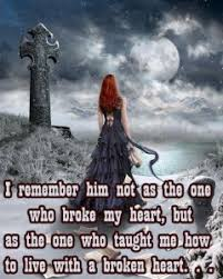 Broken Love Quotes For Him From The Heart. QuotesGram via Relatably.com