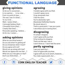 some useful functional english from cork english teacher