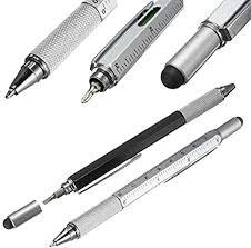 LEDZZ 1pcs/lot New Arrival Tool <b>Ballpoint Pen Screwdriver Ruler</b> ...