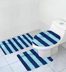 dark navy blue bath rugs: incredible decoration navy blue bathroom rug set pleasing bath mats and rug sets image gallery collection