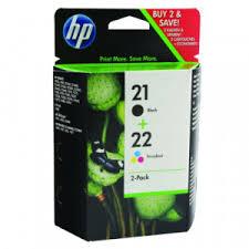 <b>HP 21</b>/<b>22</b> Black/Colour Inks Twin <b>SD367AE</b> | Code HPSD367AE ...
