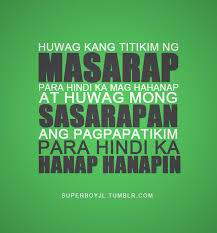 Pinoy Tagalog Quotes. QuotesGram via Relatably.com