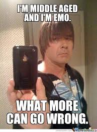 Middle Aged Emo by xposeidon1 - Meme Center via Relatably.com