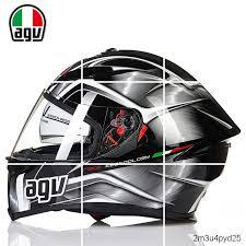 AGV k5s helmet male and female anti fog <b>motorcycle</b> racing ...