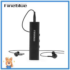 【Sevan】 <b>FINEBLUE W688</b> Collar Clip-on <b>Bluetooth Headphone</b> with ...