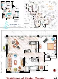 As Seen on TV  Floor Plans from Famous Television Series   Urbanisttelevision plan drawings pencil