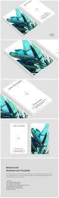 ideas about business cards business card banana leaf business card template by design co on creativemarket
