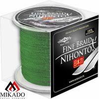 «Плетеный шнур <b>mikado nihonto fine</b> braid 0,18 green (300 м ...