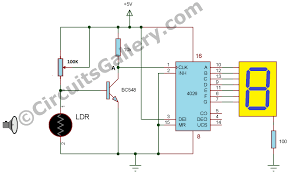 automatic digital visitor counter circuit diagram simple electronics hobby project for students copy jpgvisitor counter circuit diagram