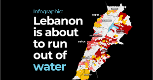 Infographic: Lebanon is about to run out of water | Business and ...