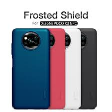 Nillkin Super Frosted Shield Matte <b>cover case</b> for Xiaomi <b>Pocophone</b> ...