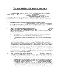doc 9561208 lease agreement template word texas standard residential lease agreement template pdf lease agreement template word