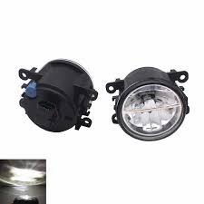 <b>2PCS 12V 55W H11</b> Tempered Glass Led Fog Light For Ford Focus ...