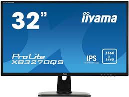 <b>Монитор Iiyama ProLite XB3270QS</b> обладает разрешением WQHD