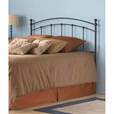 Queen Headboard Dimensions Fashion Bed Group Sanford Queen Size Metal Headboard With Castings