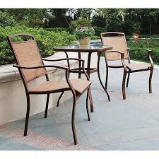 Mainstays Sand Dune <b>3</b>-<b>Piece</b> Outdoor <b>Bistro</b> Set for Patio and ...