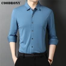 ≚Hot COODRONY Brand <b>Spring Autumn</b> High Quality Modal Silk ...