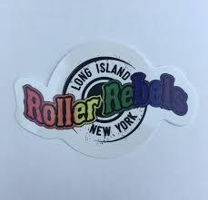 Die Cut LIRR Rainbow Sticker ... - LONG ISLAND ROLLER REBELS