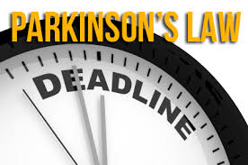 Image result for law of parkinson in time