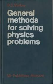 general methods for solving physics problems belikov mir books