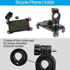 <b>Motorcycle Bike Bicycle</b> Handlebar GPS Cell <b>Phone Stand</b> Bracket ...