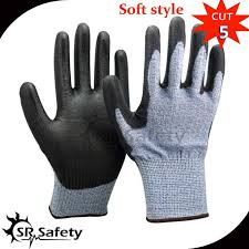 anti cutting work safety gloves food grade 5 protection kitchen cutting fish fillet processing meat wood carving
