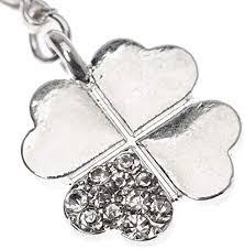 Silver Lucky <b>Clover Shape Fashion</b> Charm Pendant for <b>Bracelets</b> ...