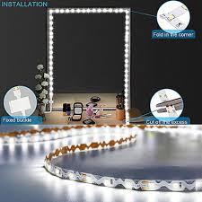 <b>Led Mirror</b> Light <b>Strip</b> Kit 13ft/4M 240 LEDs <b>Makeup Vanity Mirror</b> ...