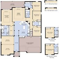 Catalina II New Home Plan   Parrish  FL   Pulte Homes New Home    First Floor