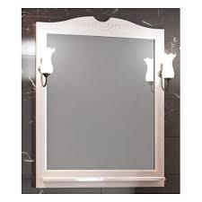 <b>Зеркало OPADIRIS Тибет 80</b>, цвет белый — купить в интернет ...